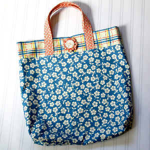 How to make a fat quarter tote bag