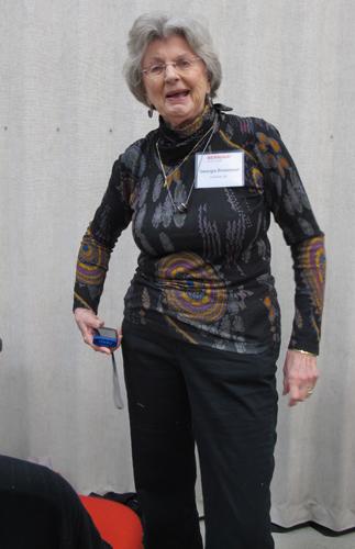 Georgia Bonesteel at BERNINA Ambassador Reunion 2013