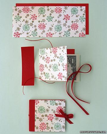 Gift Wallet from Martha Stewart