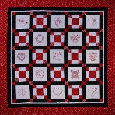 Quilt Red for womens heart health