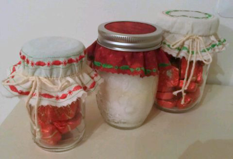 Jar or bottle topper by ReNae Merrill