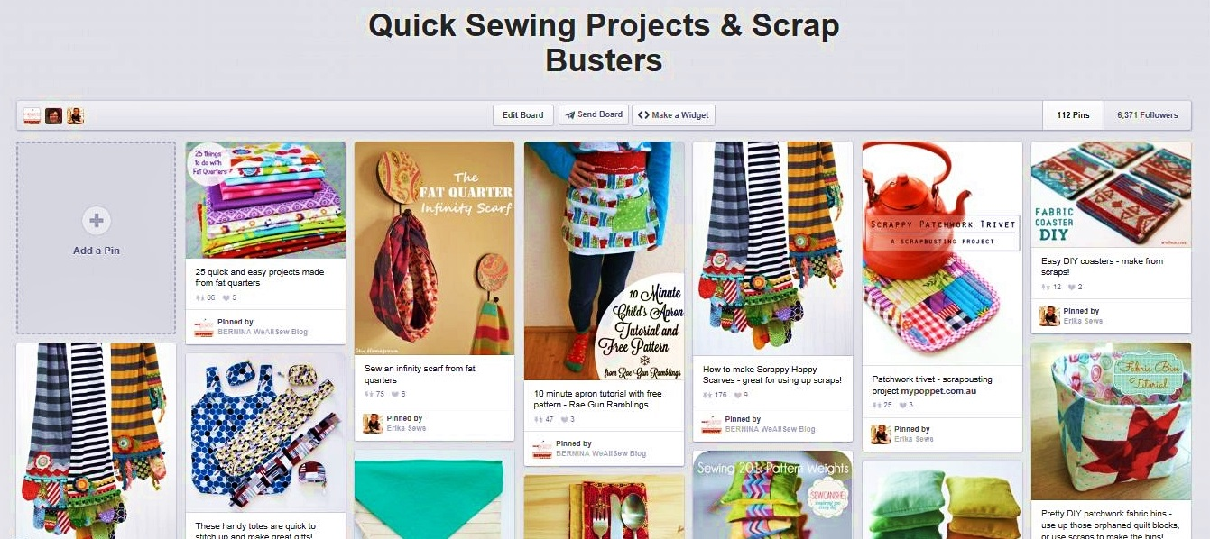 100+ DIY Fat Quarter Sewing Projects