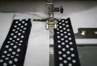 Spanish Hemstitch Attachment - joining ribbons