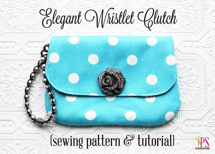 DIY Clutch Handbag Pattern