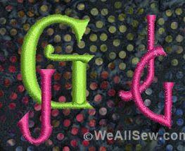 jg monogram doodles 2