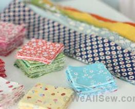 one dozen quilt projects using fabric scraps