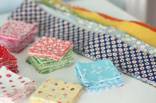 Tips for using quilt fabric scraps