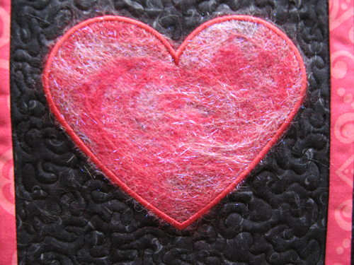 Digitized Punchwork Heart