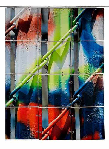 Graffiti Series - Chain Link by Kerby Smith