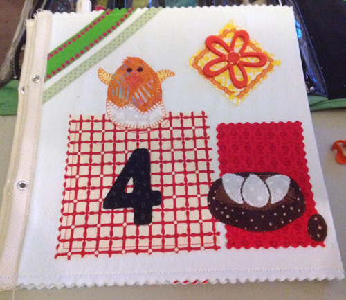 How to Make a Fabric Book with Zipped-Up Secret Messages