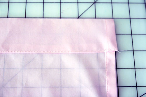 Curtain with Lace Inserts - step 10
