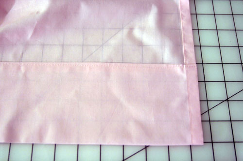 Curtain with Lace Inserts - step 11