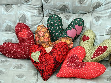 Heart Shaped Pillows