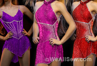 Brad Griffies Creates Dresses For Usa Olympic Figure Skaters Weallsew