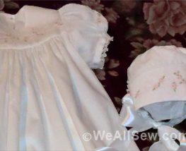 Christening Gown by Karen Ann Betts