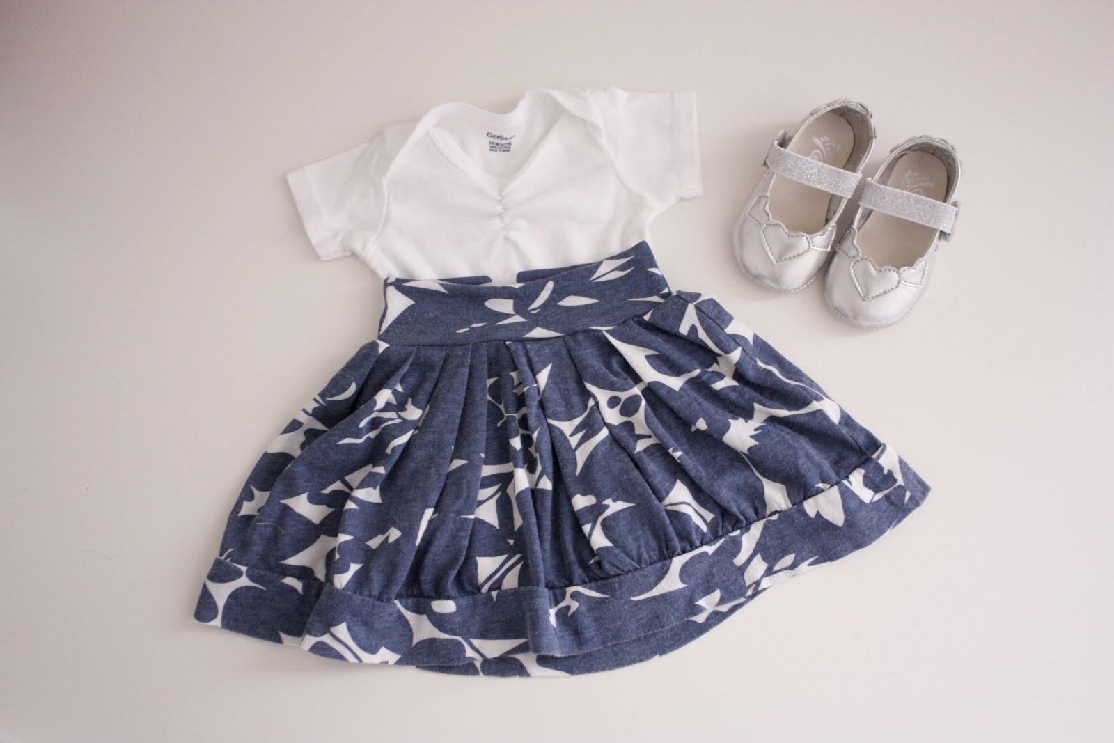 Ruffled Baby Skirt