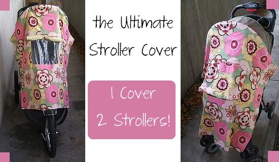 DIY stroller cover