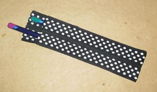 Easy DIY Ribbon Pencil Case