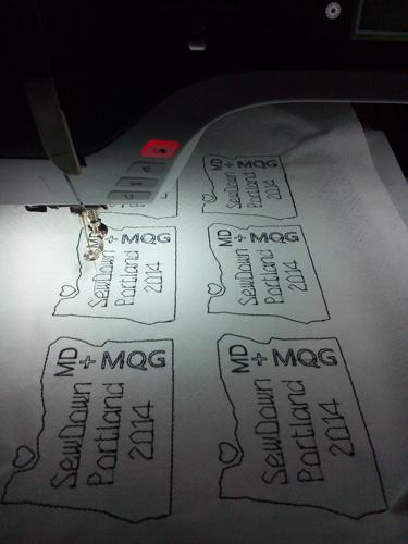 SewDown Portland MD + MQG