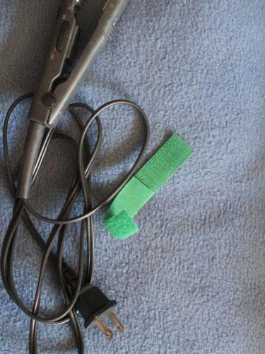 hook-and-loop-tape fastener trick