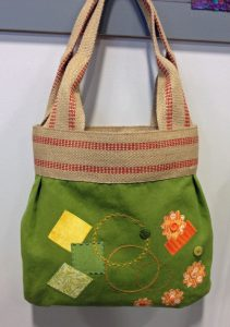 Green bag - All About Machine Embroidery Club