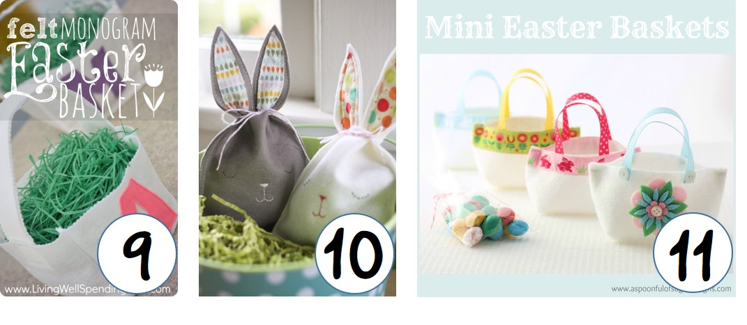 Top DIY Easter Treat Bags