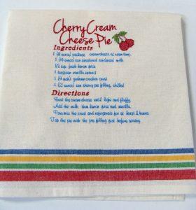 recipe towel