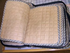 padded book