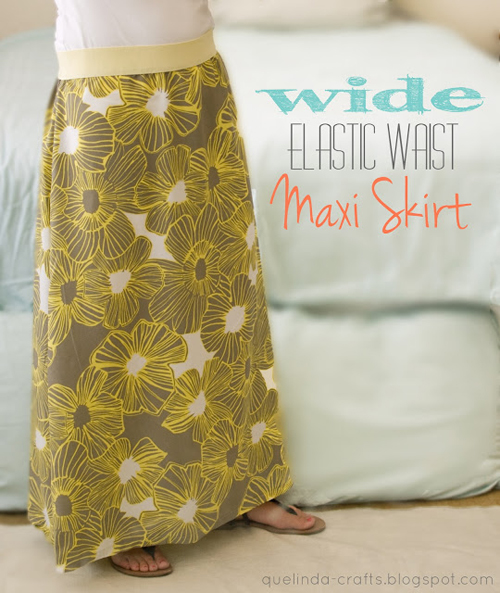 8 Skirts to Sew for Spring: Maxi Skirt Round-Up | WeAllSew