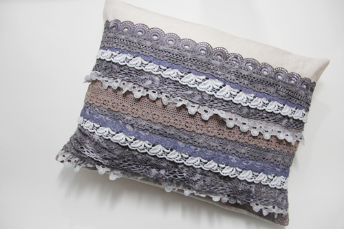 How to Sew a Lace Pillow