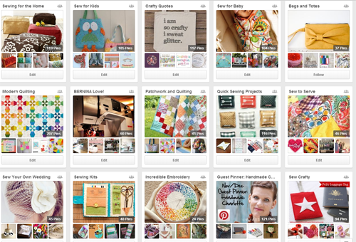 WeAllSew Pinterest