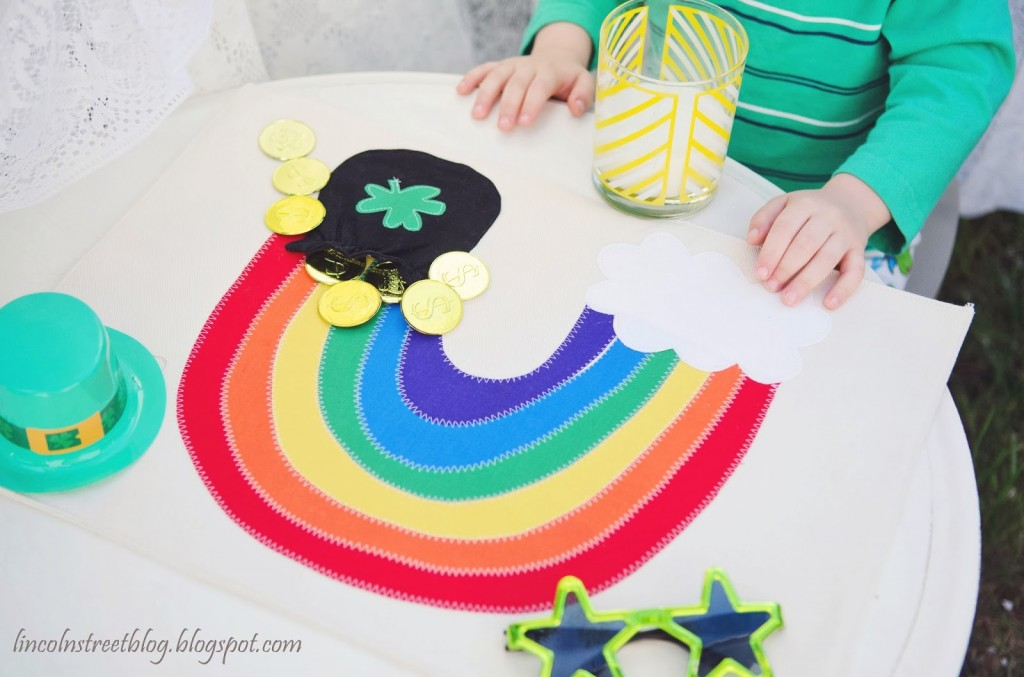 Pot of gold placemat