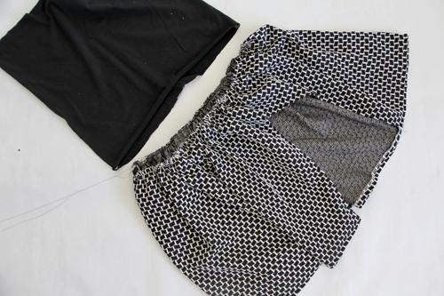 How to Sew an Asymmetrical Ruffle Skirt