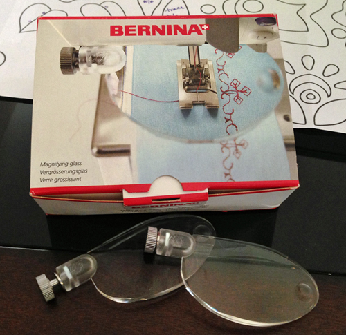 BERNINA Magnifier Lenses