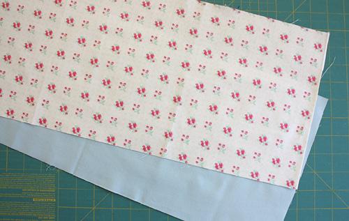 1/8 yard strips of fabric
