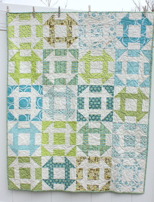 How to Make a Churn-Dash Quilt, Part 1 | WeAllSew : churn dash quilt block - Adamdwight.com