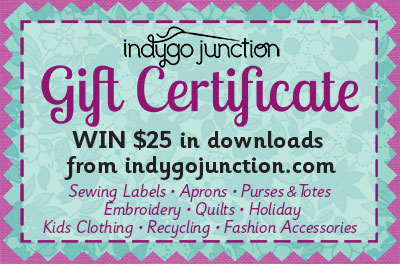 Indygo Junction gift certificate graphic