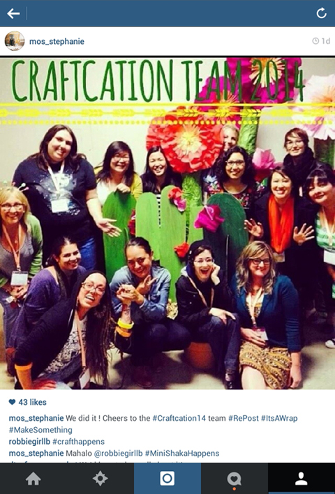 craftcation 2014 staff