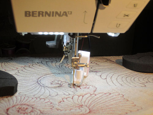 Sewing Bobbin Work with BSR