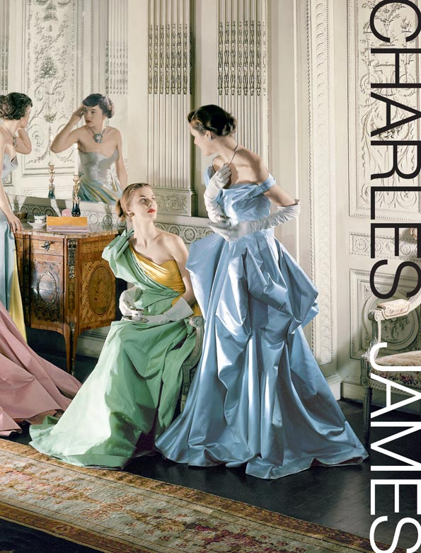 book cover, charles james: beyond fashion