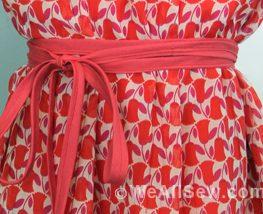 DIY Chopsticks A-Line Dress for Girls