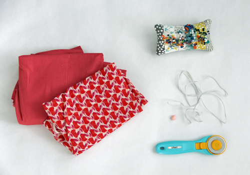 Chopsticks dress fabric and supplies