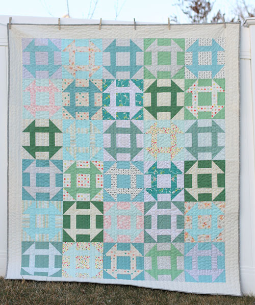 Churn Dash Quilt DIY