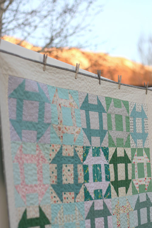 Churn Dash Quilt-Along