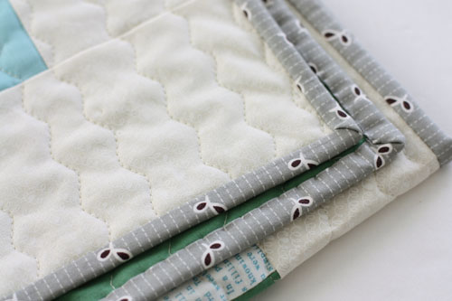 bound quilt edges
