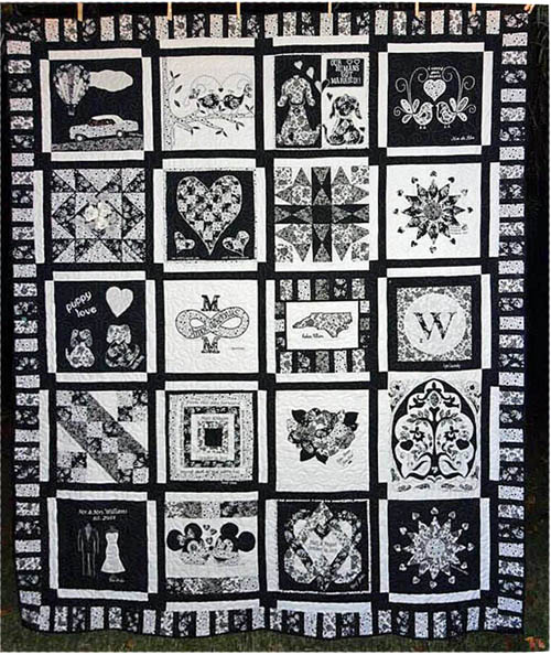 The Wedding Quilt: A Secret Family Project • WeAllSew