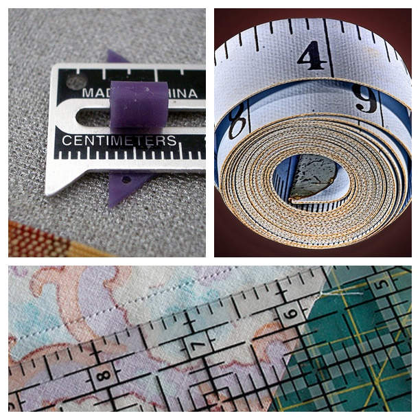 Sewing tools for measuring