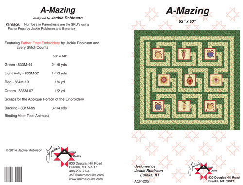 A-Mazing Quilt Pattern