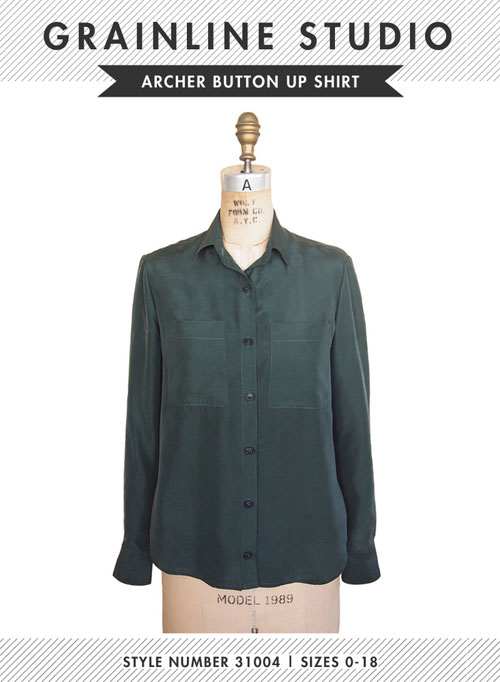 Grainline Studios' Archer Button Up Shirt