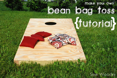 DIY Bean Bag Toss